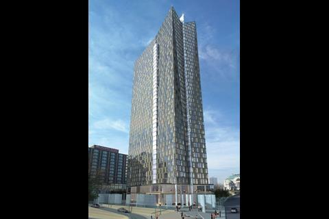 The V building planned for Birmingham